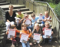 Proud participants of our school holiday camps